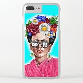Dope Frida Clear iPhone Case
