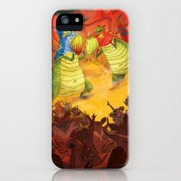 Dinoluchadores iPhone Case