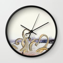 Spring Sea Wall Clock