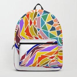 Soothing floral mandala Backpack