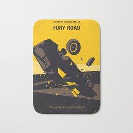 No051 My Mad Max 4 Fury Road minimal movie poster Bath Mat