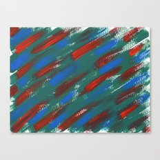 brush strokes Canvas Print