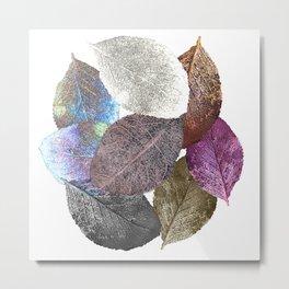 Leaf mosaic(33) Metal Print