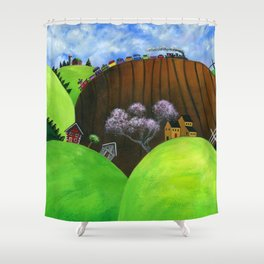 Hilly Humbly Shower Curtain