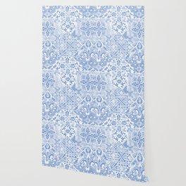 celtic cloud blue Wallpaper