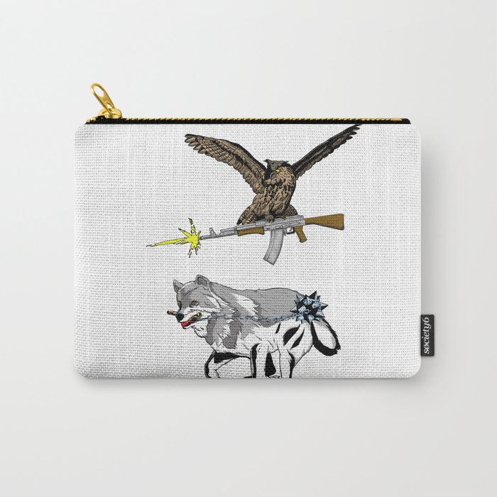 OWL WOLF ALLIANCE 3 Carry-All Pouch