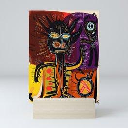 Graffiti Art Figurative Street Style African Lost and Lonely Mini Art Print