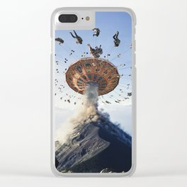 Eruption Of Joy Clear iPhone Case