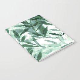 Changes Hunter Green Notebook