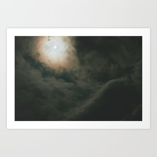 look to the sky Art Print