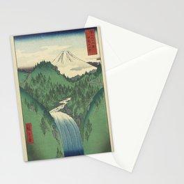 Hiroshige - 36 Views of Mount Fuji (1858) - 22: The Izu Mountains Stationery Cards