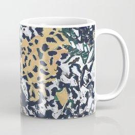 Leaves mimicricy in blue green Coffee Mug
