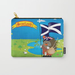 Greetings from Scotland Carry-All Pouch