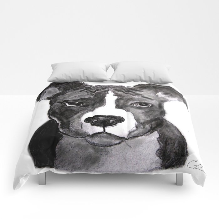 Pit Bull Dogs Lovers Comforters