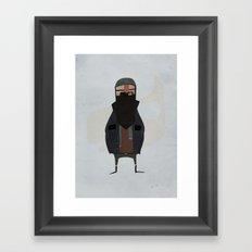 fisherman. Framed Art Print