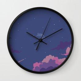 Moonset Wall Clock