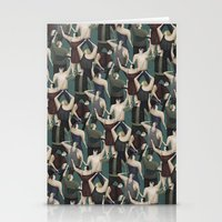 concert Stationery Cards featuring Concert pattern by David van der Veen
