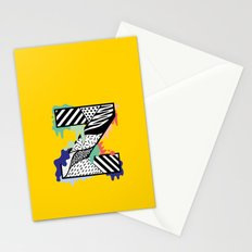 Z for …. Stationery Cards