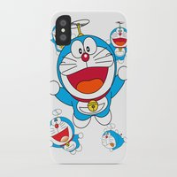doraemon iPhone & iPod Cases featuring Doraemon by Timeless-Id
