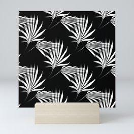 Tropical Leaves Palmetto Fronds Mini Art Print