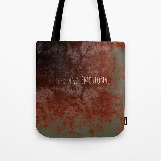 The World Impinges Tote Bag
