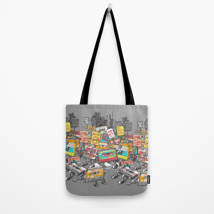 Digital Ruins Our Life Tote Bag
