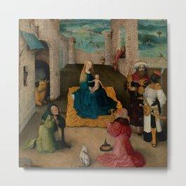 "Hieronymus Bosch ""Adoration of the Magi"" (New York) Metal Print"