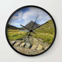 Stepping Stones Of Life Wall Clock