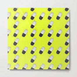 Take a neon pill Metal Print