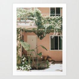 Los Angeles Life Art Print