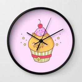 Cat Cake Wall Clock