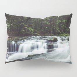 Szklarka creek - Landscape and Nature Photography Pillow Sham