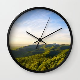 turk mountain Wall Clock