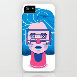 See through music iPhone Case