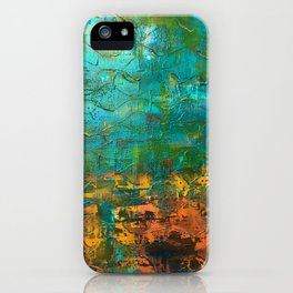 Upside down, inside out iPhone Case