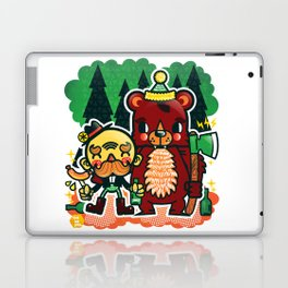 Lumberjack and Friend Laptop & iPad Skin