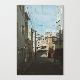 Russian Hill Wires Canvas Print