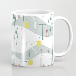 Retro Ski Coffee Mug