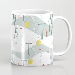 Retro Ski Coffee Mug