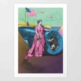 Columbia Art Print