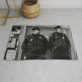 Two Policemen Rug