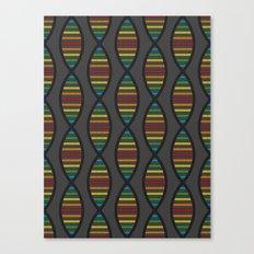 Rainbow DNA Canvas Print
