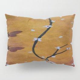 White Blossom Pillow Sham