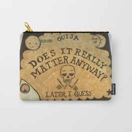 Noncommittal Ouija Board Carry-All Pouch
