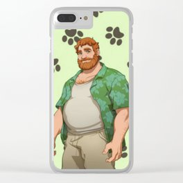 Dream Daddy: Brian Harding Clear iPhone Case