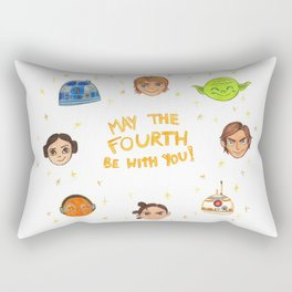 May the 4th be with you Rectangular Pillow