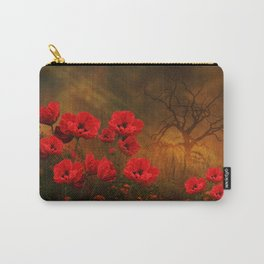 Poppy Love Carry-All Pouch