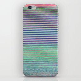 Poème électronique iPhone Skin