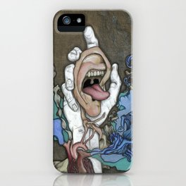 The Ear Feeds the Heart Which Fuels the Soul iPhone Case