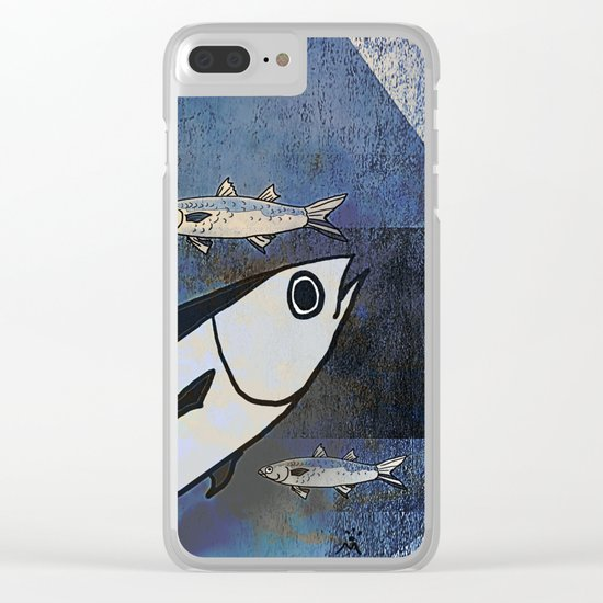 Tuna Fish and Others Clear iPhone Case